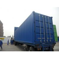 China Transportation Insulated Shipping Container , Steel Storage Containers Side Open for sale
