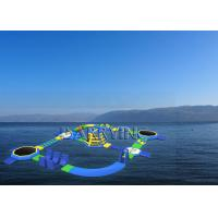 Wholesale Commercial Custom Size Giant Inflatable Park , Open Water Waterparks With PVC Tarpaulin from china suppliers