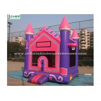 Wholesale High Tear Strength Pink 3 In 1 Inflatable Jump House for School Lobbies from china suppliers