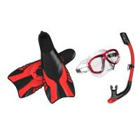 Buy cheap 2016 latest scuba diving equipment, diving set, tempered glass diving fin from wholesalers