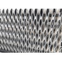 11GA Thick Aluminum Perforated Grip Strut Grating For Plank Walkway Stair Tread for sale