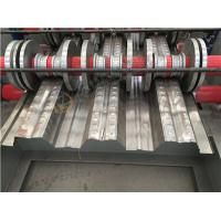 Wholesale New Style Red Steel Plant Galvanised Decking Floor Cold Forming Machine from china suppliers
