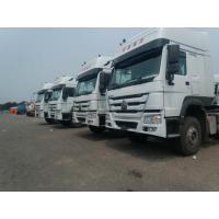 Wholesale Sinotruck Howo 336 371 420 hp Tractor Head 6X4 6x2 10 Wheel Truck,White color from china suppliers