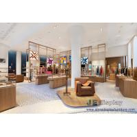 Wholesale Women's boutique store interior design solid wood display racks with Jewelry show counters from china suppliers