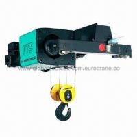 China Electric Wire Rope Hoist, Fitted with Double Girder Trolley (Medium Headroom) on sale
