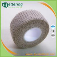Quality 2.5cm Check Pattern H-Eab Elastic Adhesive Bandage finger tape thumb tape for sale
