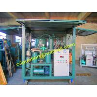 China Double Stage Vacuum Transformer Oil Filtration Plant,Filtering Machine for Insulation oil,Oil Purifier with Enclosure on sale