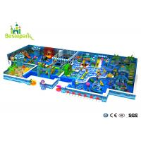 Wholesale Kids Play Equipment Large Indoor Playground 2CM Thickness With Protective Web from china suppliers