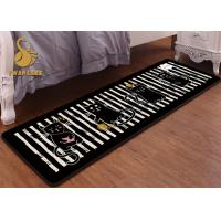 China Anti Slip Chair Mat For Living Room , Small Bedroom Rugs Customized Design on sale