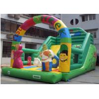 Wholesale Pista Shrek Commercial Inflatable Slide With Durable Plato PVC Tarpaulin from china suppliers