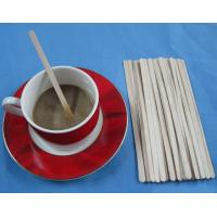 Wholesale coffee stirrers birch wood coffee stirring sticks 140mm from china suppliers