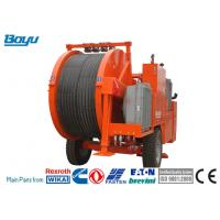 Buy cheap Stringing Equipment Hydraulic Cable Tensioner 2x80kN / 1x160kN Diesel 97kw from wholesalers