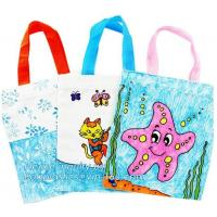 Buy cheap Cheap printed shopping bags cheap custom laminated recyclable non woven bag pp from wholesalers
