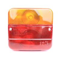 Wholesale Red And Amber Color Trailer Lamps Waterproof Trailer Tail Lights PC Material from china suppliers