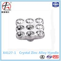 Buy cheap kitchen cabinet door crystal handle from wholesalers