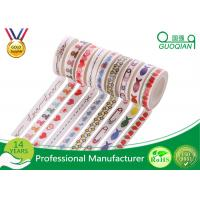 Quality Japanese Paper Washi Masking Tape Acrylic Adhesive For DIY Sticker Craft Box for sale