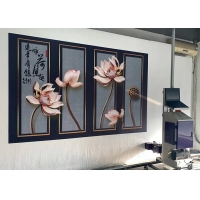 Buy cheap 720X1440DPI DX-10 Printhead Wall Mural Printer CMYK Ink from wholesalers