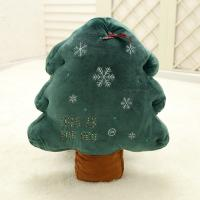Wholesale Fashional Green Animated Plush Christmas Toys Tree Type Customized Size from china suppliers