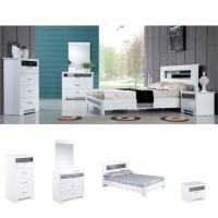 Wholesale White Bedroom Furniture Set from china suppliers
