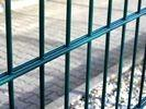 Buy cheap Double Loop Wire Fencing , Double Wire Mesh Fence Powder Coated For Boundary from wholesalers