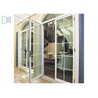Wholesale Economic Arched Aluminium Casement Door Powder Coating Australian Standard As2047 from china suppliers