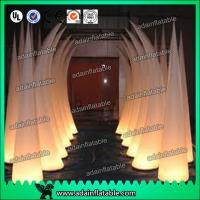 Wholesale 3M 210T Polyester Cloth Wedding Event Decoration Inflatable Tusks from china suppliers