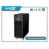 Buy cheap Pure sine wave high frequency online ups 6kva -10kva single phase uninterruptible power supply from Wholesalers