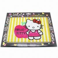 Wholesale Flash Laptop Sticker with Acrylic Rhinestones, Fashionable Collection Design from china suppliers
