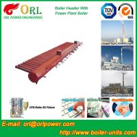 Quality Electrical Water Boiler Header Manifolds High Pressure , Heating Manifold Systems for sale