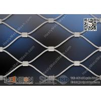 Wholesale 316L Stainless Steel Wire Cable Mesh With Ferrule | China ISO certificated Company from china suppliers