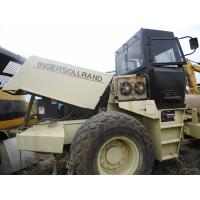 Quality USED INGERSOLL-LAND SD-175D Single Drum Vibration Road Roller For Sale for sale