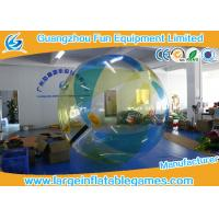 Wholesale TPU / PVC Inflatable Water Walking Ball Inflatable Human Sized Hamster Ball Water Ball from china suppliers