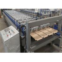 China 1220mm Roofing Panel Steel Roll Forming Machine YX38-200-1000 Profile on sale