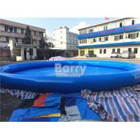 Quality Round Inflatable Blow Up Swimming Pool For Electric Inflatable Bumper 1 Seat Boat for sale