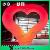 Wholesale 2m Heart Inflatable Decoration , Hanging Inflatable Wedding Decorations from china suppliers