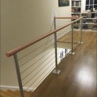 Wholesale Mirror/Brushed Solid Rod Stainless Steel Balcony Railing from china suppliers