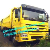 Wholesale HOWO 8x4 50t Heavy Duty Dump Truck , HYVA Hdraulic lifting system from china suppliers