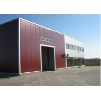 Wholesale Metal Sheet Prefabricated Steel Structures Workshop With Insulation Wall from china suppliers