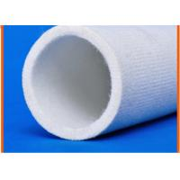Wholesale Pure White Felt Tube Cover Middle Temperature Industrial Rollers from china suppliers