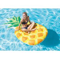 "Wholesale Pineapple Inflatable Floating Water Park Inflatable Float Mat 85"" X 49"" from china suppliers"