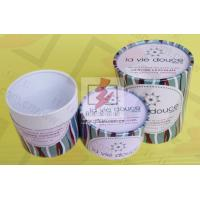 Wholesale Round Food Packaging Containers / Cardboard Cylinder Boxes Packaging from china suppliers