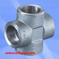China ASTM B564  UNS N06625 UNS N08825  UNS N10675   nickel alloy forged  socket welding  sw cross    ASME B16.11 on sale