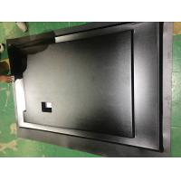 China Custom Thermoform Plastic Sheets For Vacuum Forming , Black LCD Tv Back Cover on sale