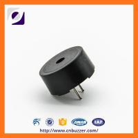 Buy cheap 5 Volt Small Black Piezo Electric Buzzer , Alarm Ring Piezoelectric Transducer from Wholesalers