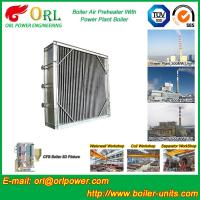 Quality Plate Type Boiler Air Preheater Alloy Steel , Boiler APH Energy Saving for sale