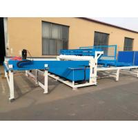Wholesale Semi Automatic Welded Fence Wire Mesh Welding Machine For European Fence from china suppliers