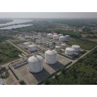 Wholesale 25KPa LNG Regasification Terminal Cryogenic Storage Tanks Dragon Crown Second Phase from china suppliers