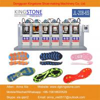 Buy cheap Kingstone Machinery Manufacturer 6 Stations PVC TPU TPR TR Shoe Sole Making Machine from wholesalers