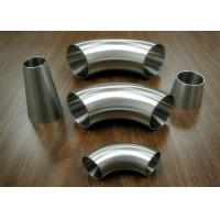 Wholesale Food Industrial Stainless Steel Sanitary Fittings Weld 90 Degree Elbows from china suppliers