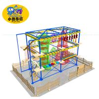 China 2018 Vasia Safety Kids Outdoor Games Equipment Indoor and Outdoor Obstacle Course Equipment Playground Rope Course on sale